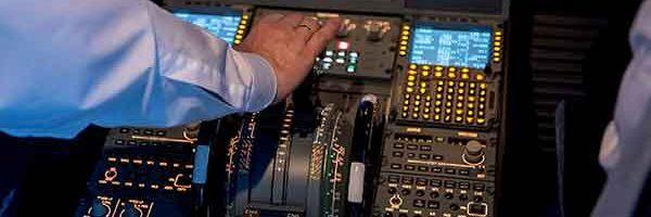 Führungs-Training im Cockpit